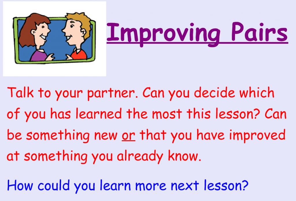 improvingpairs
